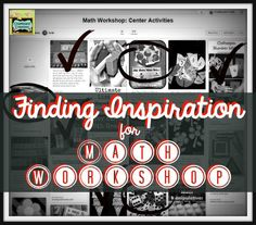 Where to find inspiration for math centers