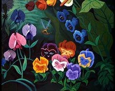 "... Garden of Live Flowers from Walt Disney's ""Alice in Wonderland"" (1951"