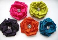 Cute Ribbon Flowers!
