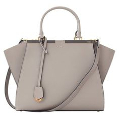 Fendi 3jours Shopper ❤ liked on Polyvore featuring bags, handbags, tote bags, shopper purse, fendi handbags, shopper tote handbags, brown handbags and fendi shopper