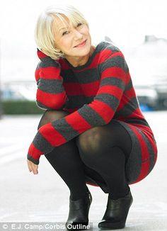 Down to earth star: Helen Mirren