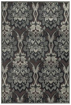 Saphir Callo Black/Gray Area Rug