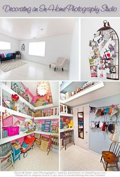 Great tips from iHeartFaces.com for decorating your own Photography Studio! Photo © Helen John Photography. http://www.iheartfaces.com/2013/04/photography-studio-decorating-tips/