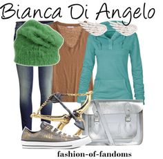 A Bianca Di Angelo outfit! Oh.My.Gosh. This is perfect!!!!! I also look like her so PERFECT