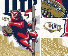 Miller Lite / Chicago Bears on Behance