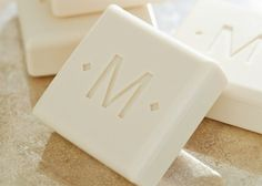 Have you ever been in someone's bathroom and marveled at their super-fancy monogrammed soap and towels? They're small details, but they make a world of difference—something that your host is sure to love.