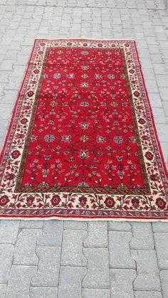hand made turkish rug anatolian ısparta rug by ANATOLIANVintageRUG