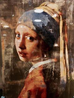 het meisje met de parel - foto art