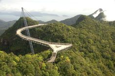 10Best: Beautiful Bridges: Slideshows Photo Gallery by 10Best.com - Langkawi Sky Bridge, Malaysia