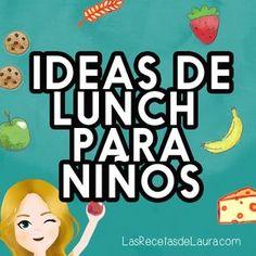 Ideas para preparar el lunch ideal para que se lleven los niños a la escuela, lunchs saludables y deliciosos super fáciles de armar.