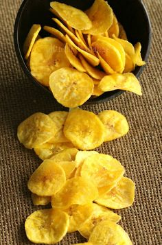 Banana Chips - I like it crispy and golden