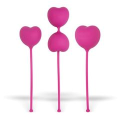 Lovelife Flex Kegels from OhMiBod. Save the sweat for the bedroom. Exercising your PC muscle with our Kegel weights gives you all the gain without the