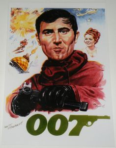 is a daily growing private James Bond 007 Collection based in Zurich Switzerland. James Bond, George Lazenby, Sean Connery, We Meet Again, Secret Service, Fan Art, Artwork, Movies, Movie Posters