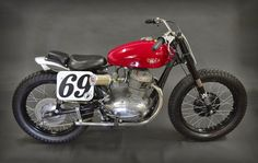 RocketGarage Cafe Racer: Gilera America
