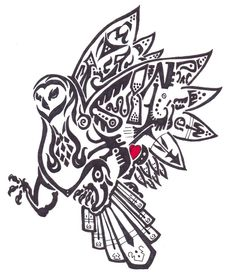 46cc79e9 tribal owl tattoo images | Tribal Owl by RyanFalk on deviantART New Tattoo  Designs, Owl