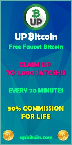 UPBitcoin.com - Free faucet bitcoin. Earn bitcoins every day.