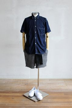 Suggestion of The Comme des Garcons Homme Deux Short-Sleeve Shirt Style vol.3