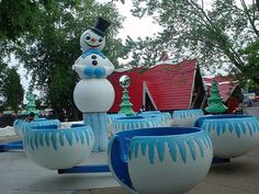 Santa's Village  601 Dundee Ave.  East Dundee, IL. (1959-2006)