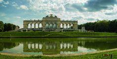 Wien, Schönbrunn Palace Garden Gloriette, Nikon Coolpix L310, 5.6mm, 1/800s,ISO80, f/3.2,+1.0ev, polar filter, panorama mode:segment 2HDR-Art photography, 201605211540