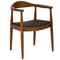 Perfect for your dining area, or other indoor living spaces requiring optional seating, the Kennedy chair is made of solid wood and superior quality and durable vinyl. Enjoy the comfort and look of this impressive and respectable furniture piece.