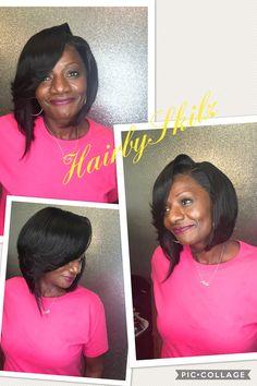 Full Frontal Sewin, Layer Bob...#HairbySkilz #SkilzBundlez