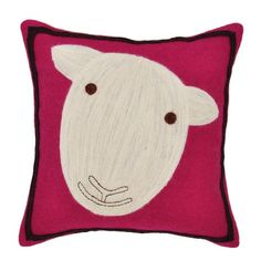 Sheep throw pillow by Amity Home can be found at Cotton Cloud in Portland, OR.
