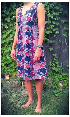 Washi Dress #2 - light weight apparel cotton by Phdknitting, via Flickr