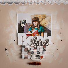 Book Love @felicityjanestudio #scrapbooklayout #scrapbooking #felicityjanestudio #reagankit
