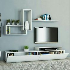 5 Most Simple Ideas: Floating Shelf Nursery Rocking Chairs ikea floating shelves kitchen.How To Build Floating Shelves Style floating shelf nursery rocking chairs.Floating Shelves Living Room With Lights. Tv Unit Decor, Tv Wall Decor, Tv Wanddekor, Kitchen Wall Shelves, Shelf Wall, Bathroom Shelves, Modern Tv Wall Units, Modern Tv Cabinet, Living Room Tv Unit Designs
