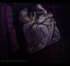 Mark and Keiran in the coat cupboard scene, Lady Midnight