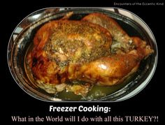 """For those celebrating Thanksgiving this week--> """"Freezer Cooking with Leftover Turkey""""! AND a family-friendly post link-up! Don't miss all the fun :) Pregnancy And Infant Loss, Leftover Turkey, Freezer Cooking, Thanksgiving Turkey, Menu Planning, Eccentric, Dinner, Health, Recipes"""