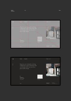 Minimalist Brand Identity and UX/UI Design for Uinetry™ Minimal Web Design, Ui Ux Design, Web Design Tips, Interface Design, Brand Design, User Interface, Website Design Layout, Web Layout, Layout Design