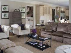 Traditional Living Space Photos | HGTV