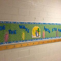 Ride the wave into 5th grade. Amanda's beach themed science at KES!