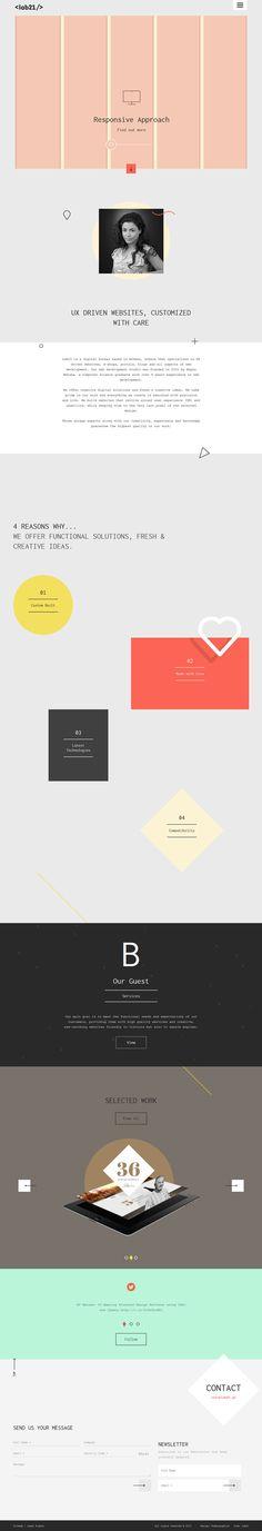 Lab21 - Flat Design