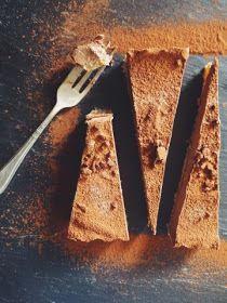 Raw Chocolate and Cashew Tart Vegan