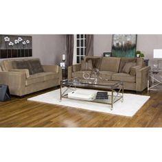 @Overstock - This Tuscany camel fabric velvet sofa and loveseat will add sophistication to your home decor. Handcrafted in North America using time-honored Old World techniques, this furniture includes six accent pillows and four rectangular bolsters. http://www.overstock.com/Home-Garden/Tuscany-Camel-Fabric-Velvet-Sofa-and-Loveseat/5288027/product.html?CID=214117 $2,609.09