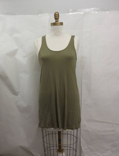 New Womens Green Free People Basic Knit Slip Dress Size S by KCteedesigns on Etsy