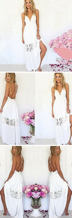 This boho maxi dress is gorgeous. It would even make an amazing choice for a low-key beach wedding. Click through our photo to get it for $15.99.