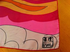 Vera Neumann Scarf EXREMELY RARE!!! in Clothing, Shoes & Accessories | eBay