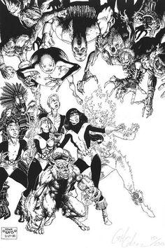New Mutants art adams