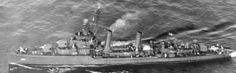 USS Aaron Ward (DD-483), Gleaves-class (Bristol-class) destroyer in World War II. [Click on link for close-up images and other views]