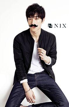 NIX Primavera 2015 Feat campaña publicitaria. Seo Kang Joon | Sofá Kimchi