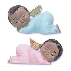 Ethnic Sleeping Babies with Wings ** You can find out more details at the link of the image.