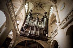 Buffet d'orgue de l'église Saint Etienne du Mont, Paris