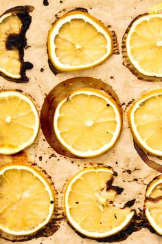 Roasted Lemons can add the perfect zesty flavor to any recipe/ Add some to a salad, for some brightness, or right on top of a protein for a garnish.