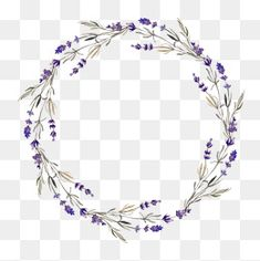 Ideas Flowers Watercolor Paintings Circle For 2019 Free Watercolor Flowers, Watercolor Flower Wreath, Watercolor Circles, Watercolor Paintings, Hand Flowers, Purple Flowers, Flower Frame, Flower Art, Flower Circle