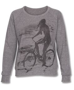 ...I want to ride my bicycle...I want to ride my bike...in this AWESOME raglan of course!  #letlifeflow #soulflowercontest