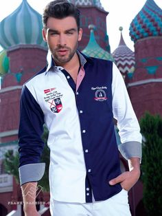 Yacht Fashion, Guy Style, Club Shirts, Yacht Club, Navy And White, Mens Fashion, Guys, Jackets, Clothes