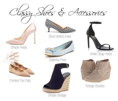 """""""Classy Shoes"""" by the-polished-pearls on Polyvore featuring Jimmy Choo, Yves Saint Laurent, Michael Kors, Prada, TOMS and Sole Society"""